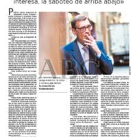 """""""Carlos Pujol: """"La realidad no me interesa, la saboteo de arriba abajo"""""""""""