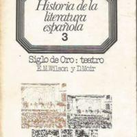 Historia de la literatura española 3. Siglo de Oro. Teatro (1492-1700)