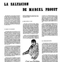 """""""La salvación de Marcel Proust"""""""